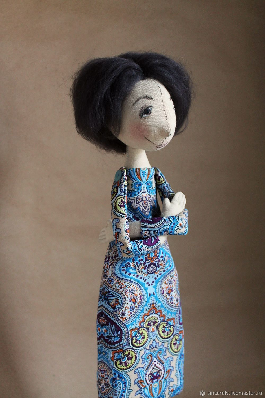 "Кукла по фото ""Дама с собачкой"", Портретная кукла, Зеленоград,  Фото №1"