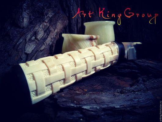 Подарки для мужчин, ручной работы. Ярмарка Мастеров - ручная работа. Купить реставрация ножа из нержавеющей стали с заменой рукояти на рог. Handmade.