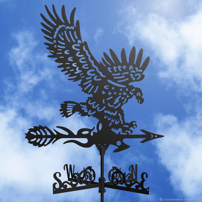 Weather vane on the roof ' Eagle', Vane, Ivanovo,  Фото №1