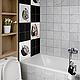 Декор поверхностей ручной работы. Керамическая плитка ручной росписи для ванной комнаты. 'Крея Керамик'. Ярмарка Мастеров. Роспись, ванна