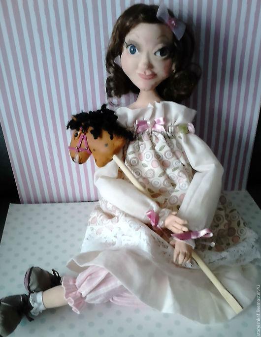 Коллекционные куклы ручной работы. Ярмарка Мастеров - ручная работа. Купить Кукла интерьерная Лолита. Handmade. Бледно-розовый