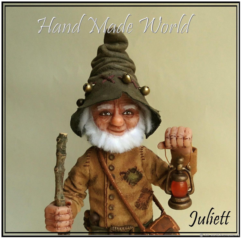 Original interior doll 'Gnome', Dolls, Ufa,  Фото №1