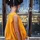 """Одежда для девочек, ручной работы. Валяное платье, детское """" Тыква для принцессы """". Маш Папян (Mashpapyan). Ярмарка Мастеров."""