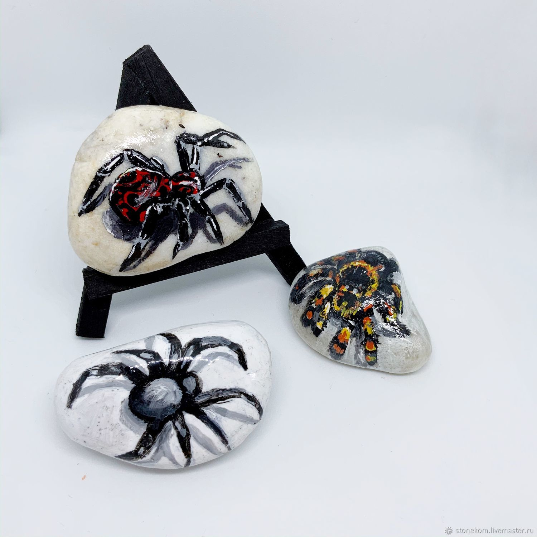 с изображением паука в 3Д, Камни, Павлодар,  Фото №1