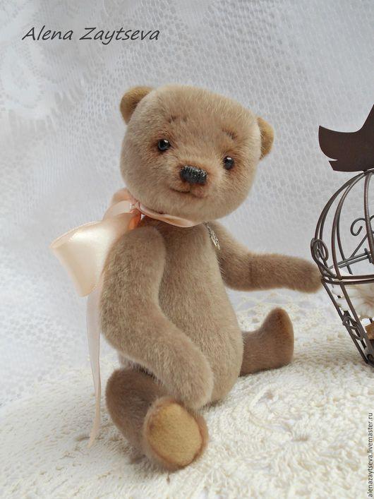 """Мишки Тедди ручной работы. Ярмарка Мастеров - ручная работа. Купить """"Маленькое чудо""""-кофе с молоком.. Handmade. Бежевый"""