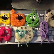 Куклы и игрушки handmade. Livemaster - original item Animals brooches. Handmade.