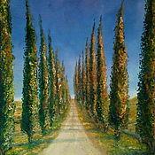 Картины и панно handmade. Livemaster - original item Tuscany. Val D`Orcia.  Oil painting 30/40. Handmade.