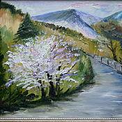Картины и панно handmade. Livemaster - original item Oil painting Crimea in the spring. Handmade.