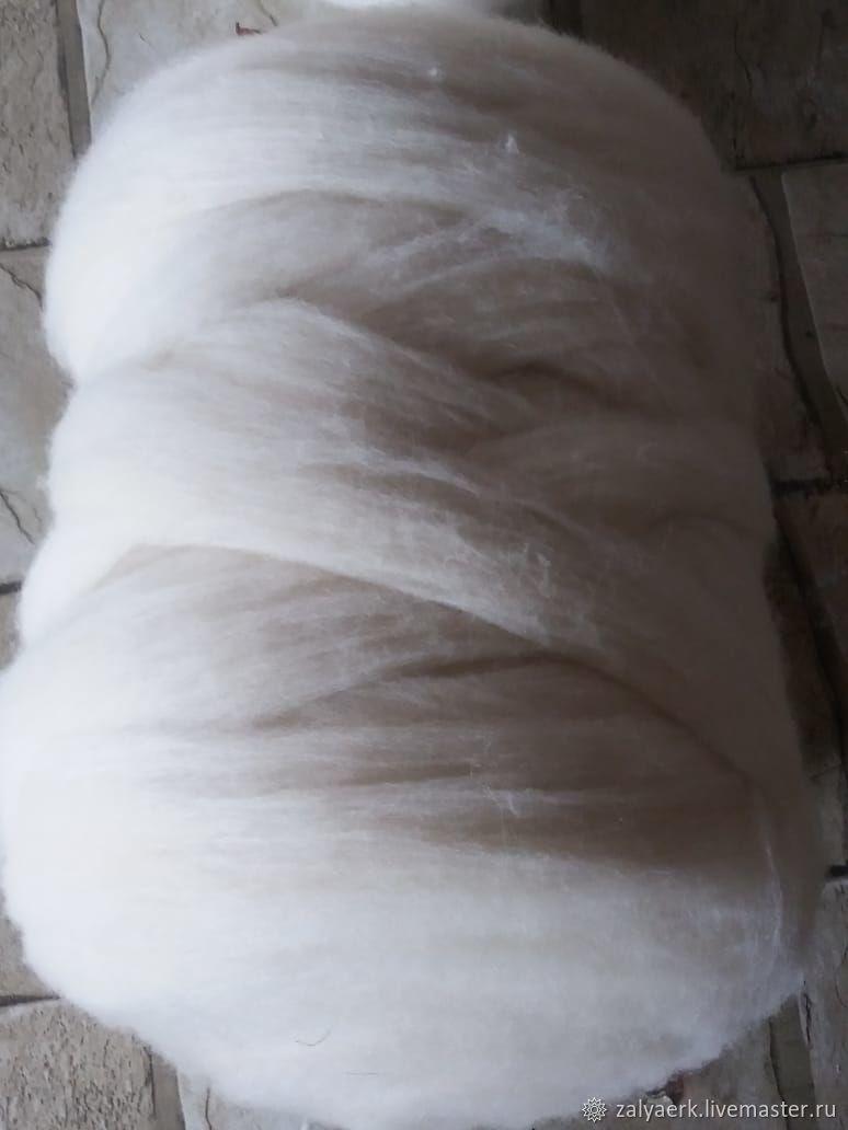 Меринсовая шерсть для  валяния, прядения, вязания, Шерсть, Черкесск,  Фото №1