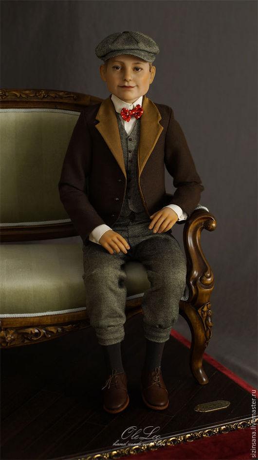 Портретные куклы ручной работы. Ярмарка Мастеров - ручная работа. Купить Портретная кукла Александр. Handmade. Коричневый, подарок на свадьбу