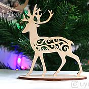 Сувениры и подарки handmade. Livemaster - original item New year reindeer delivering happiness. Handmade.