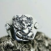 Украшения handmade. Livemaster - original item Money magnet GANESH ring. Handmade.
