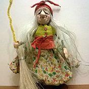 """Куклы и игрушки ручной работы. Ярмарка Мастеров - ручная работа куколка """"Маленькая Ягулька в широкой юбчонке"""". Handmade."""