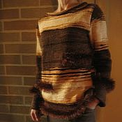 """Одежда ручной работы. Ярмарка Мастеров - ручная работа Свитер""""Пустынная планета"""". Handmade."""