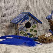 Для дома и интерьера ручной работы. Ярмарка Мастеров - ручная работа Дом Синей птицы. Handmade.