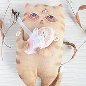 Куклы и игрушки ручной работы. Ярмарка Мастеров - ручная работа Ароматизированная текстильная игрушка Тибетский котэ. Handmade.