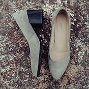 Обувь ручной работы. Ярмарка Мастеров - ручная работа Туфли-лодочки Ema. Handmade.