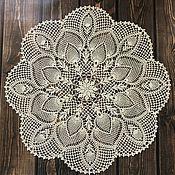 Для дома и интерьера handmade. Livemaster - original item Decorative napkin. Handmade.