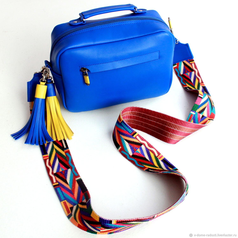 a5ba2db0c90a 8 марта, что подарить девушке, подарок себе любимой, кожаная сумочка, синяя  сумка ...