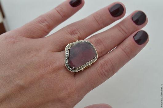 """Кольца ручной работы. Ярмарка Мастеров - ручная работа. Купить """"Sapphire"""" Кольцо с сапфиром и алмазами. Handmade. Авторские украшения"""