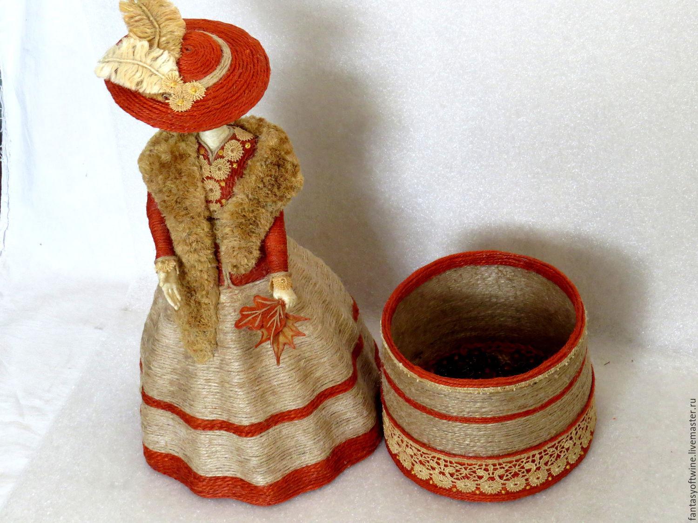 Куклы из джута своими руками 75