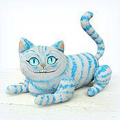 Куклы и игрушки ручной работы. Ярмарка Мастеров - ручная работа Чеширский кот игрушка, сказочный персонаж. Handmade.