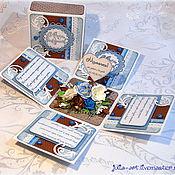 """Открытки ручной работы. Ярмарка Мастеров - ручная работа Magic Box - открытка """"С днем рождения"""". Handmade."""