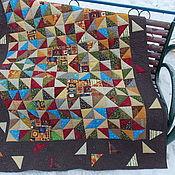 Для дома и интерьера ручной работы. Ярмарка Мастеров - ручная работа Деревенское лоскутное одеяло. Handmade.