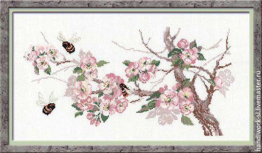 Дыхание весны  Риолис   набор для вышивания крестиком  Риолис 635