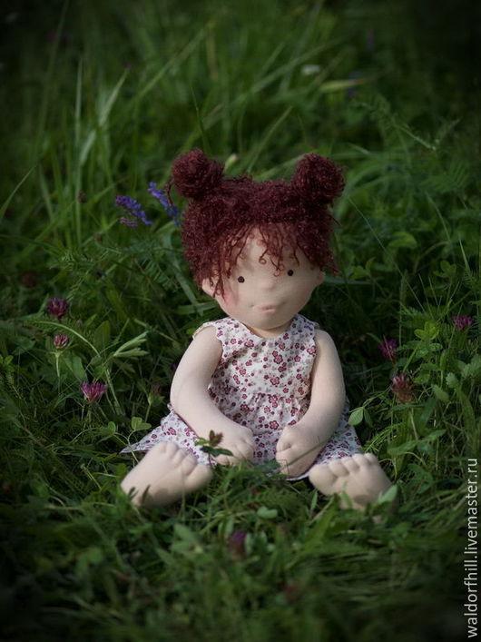 Коллекционные куклы ручной работы. Ярмарка Мастеров - ручная работа. Купить Марина 44 см. Handmade. Комбинированный, натуральные материалы