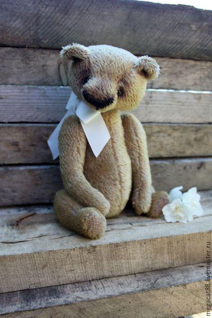 Мишки Тедди ручной работы. Ярмарка Мастеров - ручная работа. Купить Мишка тедди Гарри. Handmade. Бежевый, мишка тедди