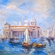 Картины и панно ручной работы. Ярмарка Мастеров - ручная работа Венеция Тёрнера. Handmade.
