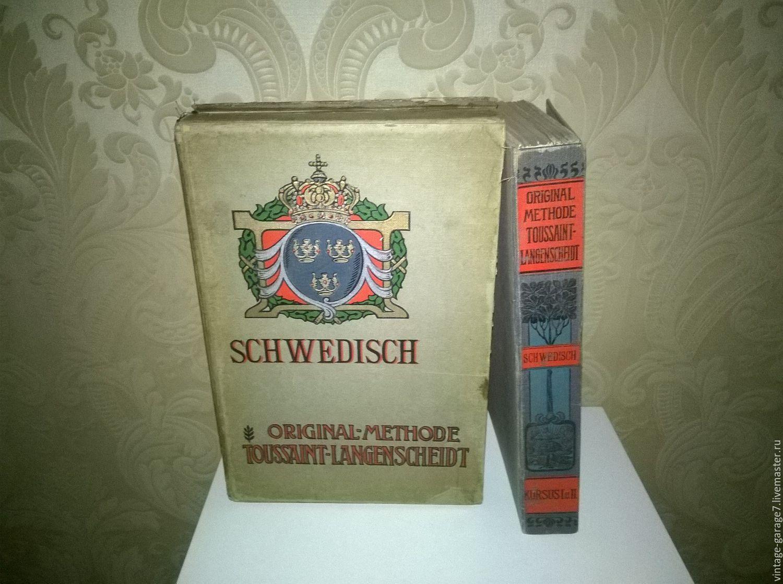 """Винтаж: Самоучитель """"Original-methode Toussaint-Langenscheidt"""".1856г, Винтажные книги, Москва, Фото №1"""