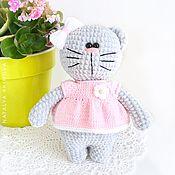 Куклы и игрушки handmade. Livemaster - original item Plush kitty Fluff. Handmade.