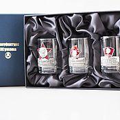 Сувениры и подарки handmade. Livemaster - original item A set of stacks NOSTALGIA (ENAMEL) three in box. Handmade.