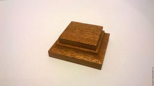 Миниатюрные модели ручной работы. Ярмарка Мастеров - ручная работа. Купить Подставки из ценных пород.. Handmade. Коричневый, подставки для фигурок