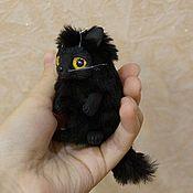 Куклы и игрушки ручной работы. Ярмарка Мастеров - ручная работа Брелок Котявочка любой цвет. Handmade.