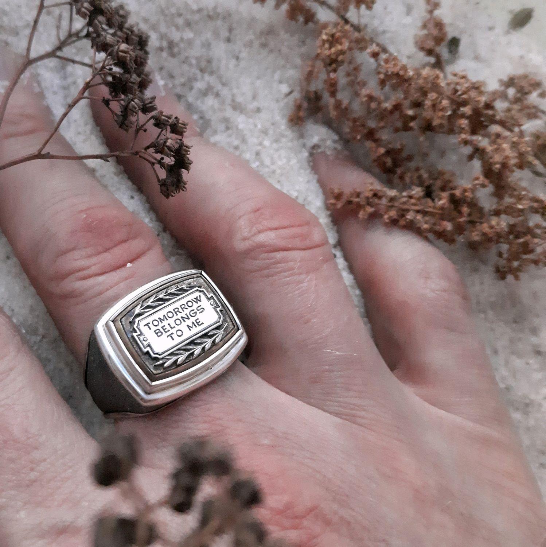Кольцо мужское, Кольцо-печатка, Ижевск,  Фото №1
