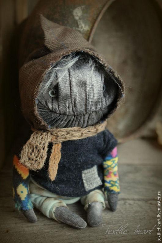 Куклы и игрушки ручной работы. Ярмарка Мастеров - ручная работа. Купить В позабытых вещах... Handmade. Серый, мифические существа