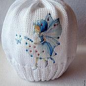 Работы для детей, ручной работы. Ярмарка Мастеров - ручная работа Хлопковая шапочка Фея.... Handmade.