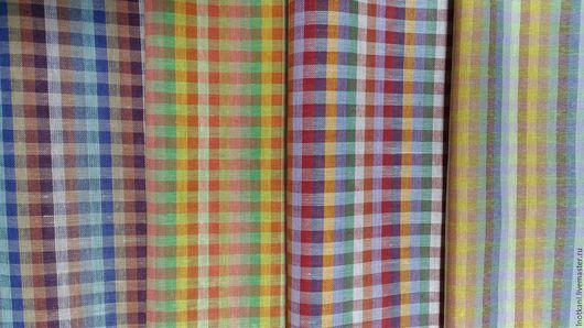 Шитье ручной работы. Ярмарка Мастеров - ручная работа. Купить Ткань льняная полотенечная 50х75см. Handmade. Льняное полотенце