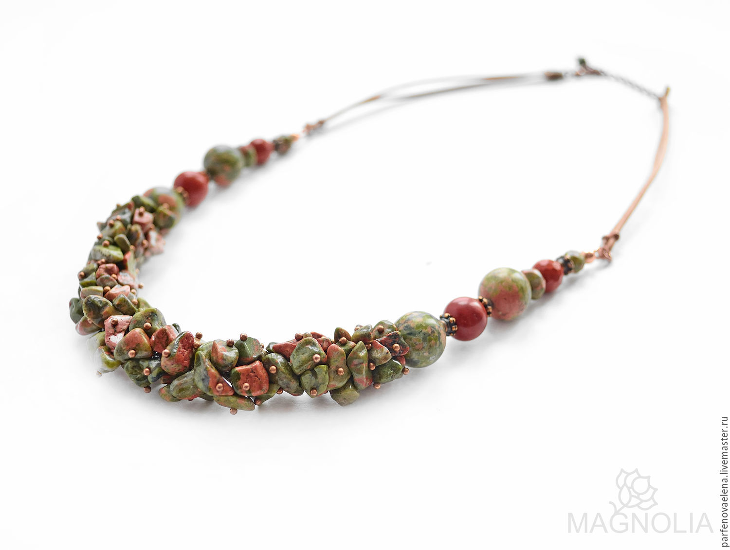 Necklace 'Force of nature', Necklace, Omsk,  Фото №1