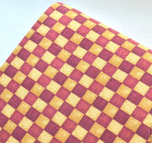 Шитье ручной работы. Ярмарка Мастеров - ручная работа. Купить Хлопок 23233-AТ, США. Handmade. Ткань для кукол