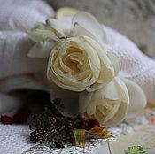 """Украшения ручной работы. Ярмарка Мастеров - ручная работа Ободок """"Розы"""". Handmade."""