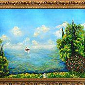 """Картины и панно ручной работы. Ярмарка Мастеров - ручная работа Картина """"Морской пейзаж"""" Авторская работа. Пейзаж.. Handmade."""