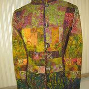 """Одежда ручной работы. Ярмарка Мастеров - ручная работа Жакет в стиле Бохо """"Сентябрь в лесу"""". Handmade."""
