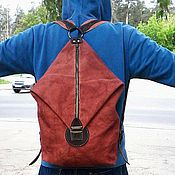 Сумки и аксессуары handmade. Livemaster - original item BACKPACK ( deep ). Handmade.
