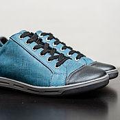 Обувь ручной работы. Ярмарка Мастеров - ручная работа Кеды Тренд. Handmade.