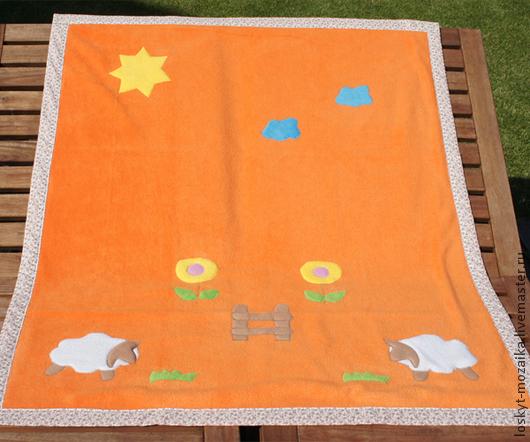Пледы и одеяла ручной работы. Ярмарка Мастеров - ручная работа. Купить Одеяло флисовое. Флисовый плед. Одеяло на заказ. Детское одеяло. Handmade.
