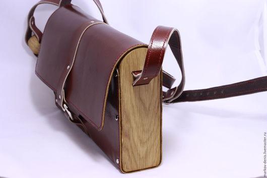 Женские сумки ручной работы. Ярмарка Мастеров - ручная работа. Купить Коричневая сумка. Handmade. Коричневый, кожа натуральная, фурнитура